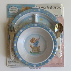 Precious Moments Sailor Kids Dinnerware Set